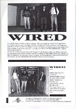 Wired, Info-Folder, 1992, Seite2 © Berndt Luef