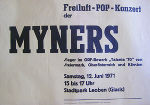 The Myners, Plakat, 1971 © The Myners